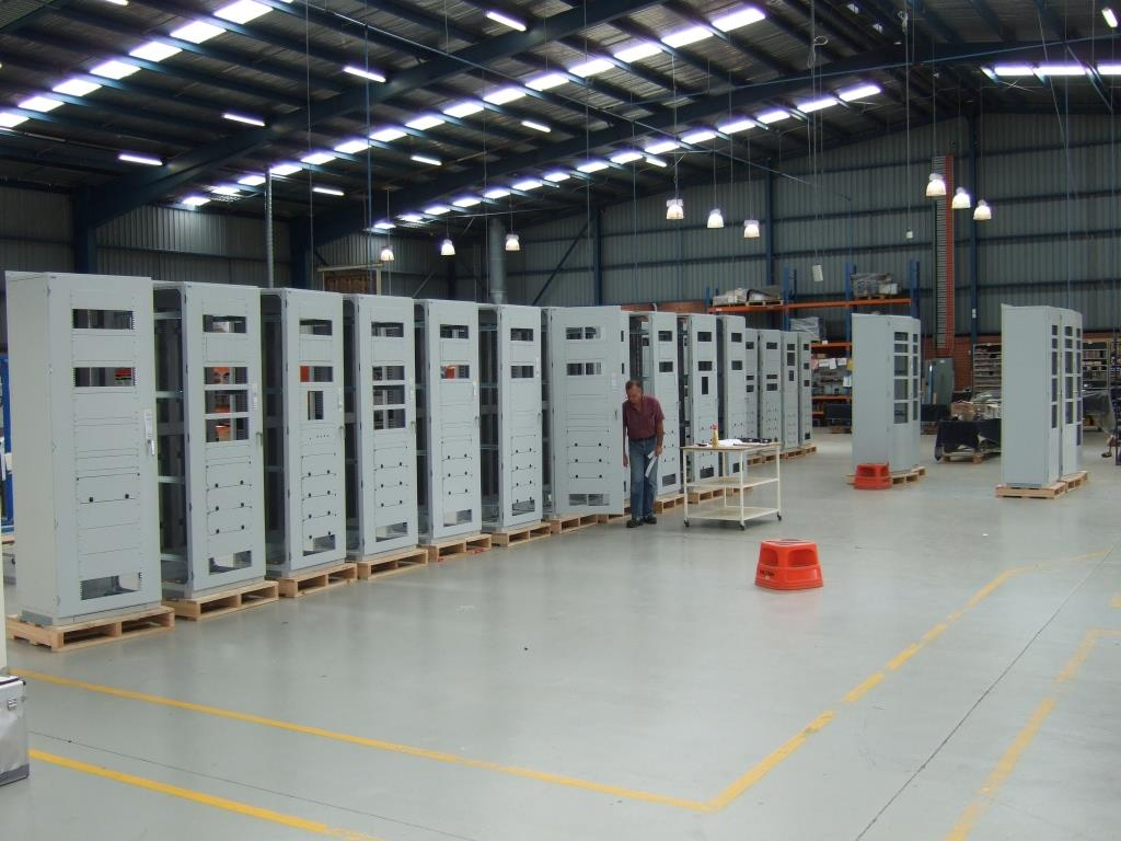 SE frame Cabinets in Assembly